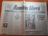 Ziarul romania libera 28 august 1990-art. cimitirul straulesti 2 - o enigma