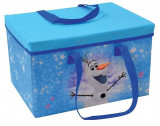 Cumpara ieftin Cutie pentru depozitare jucarii transformabila Elsa si Anna