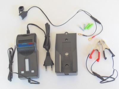 Redresor , incarcator acumulator baterie scuter, moto, atv Oximiser 600 foto