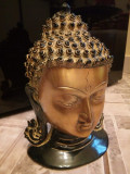 Sculptura din bronz masiv Buddha
