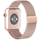Curea otel inoxidabil Tech-Protect Milaneseband Apple Watch 1/2/3/4/5 (38/40mm) Gold