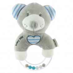 Jucarie zornaitoare pentru bebelusi BabyMix 19STK04, Gri