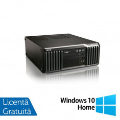 Calculator Acer Veriton S6610G, Intel Core i7-2600 3.40 GHz, 4GB DDR3, 500GB SATA, Placa video Nvidia Geforce GT 210 512MB, DVD-RW + Windows 10 Home