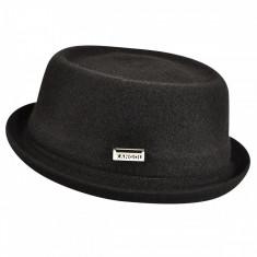 Palarie neagra Kangol Wool Mowbray (S,M,L,XL) - Cod 7871514855461