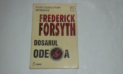 FREDERICK FORSYTH - DOSARUL ODESSA foto