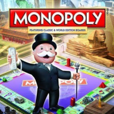 Monopoly  - Nintendo Wii [Second hand], Board games, 3+, Multiplayer