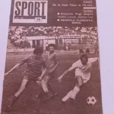 Revista SPORT-nr.10/05.1968