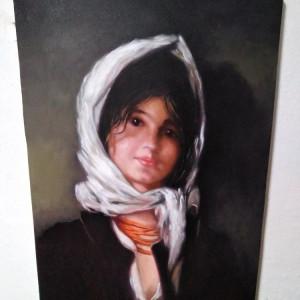 Tablou Tarancuta N. Grigorescu, pictura ulei pe panza