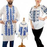 Cumpara ieftin Set Familie Traditionala 141 Camasi traditionale cu broderie