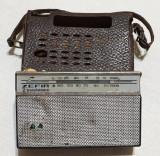 Obiect vechi de colectie Electronica Radio portabil ZEFIR - Made in Romania 1960