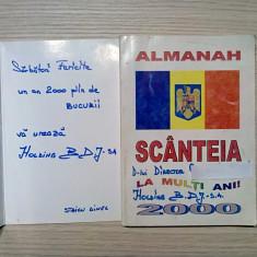 ALMANAH SCANTEIA 2000 -  STAICU DANIEL (director) - 2000, 239 p.