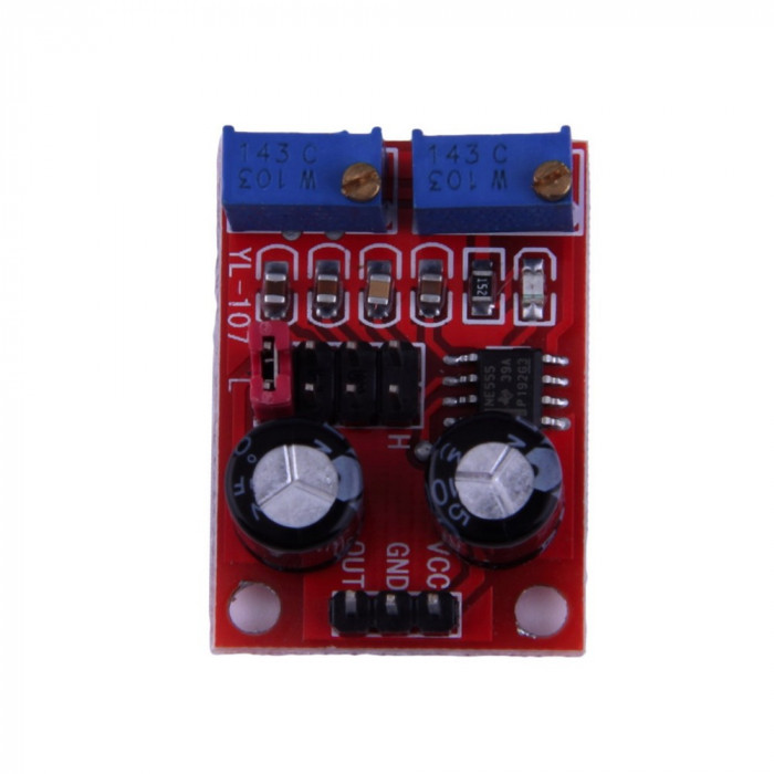 generator semnal NE555 Pulse Frequency Duty Cycle Adjustable Module Square Wave