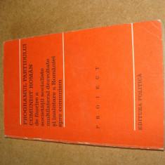 Programul partidului comunist român, București 1975