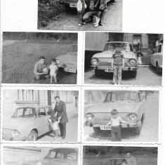 Fotografie lot 7 poze Skoda veche Romania perioada comunista
