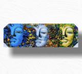Tablou 3 Faces Buddha Tip 1, L