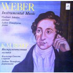 C. M. Weber, L. Timofeyera - Piano (Vinil)