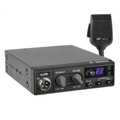 Resigilat : Statie radio CB CRT S Mini 2, 4W, cu ASQ, 12V, RF Gain, AM-FM