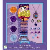 Set confectionat bijuterii Djeco, stele