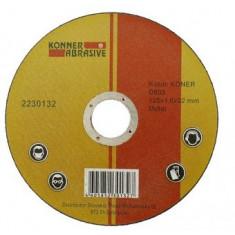 Disc de taiere metal 125x1.6, Strend Pro