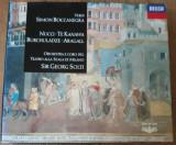 CD Verdi - Simon Boccanegra - Nucci/Kanawa/Burchuladze/Aragall [2 CD Box Set]