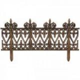 Set de 5 gardulete decorative pentru gradina, 62x35 cm, bronz