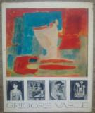 Program de expozitie Grigore Vasile// 1968