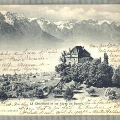 AD 380 C. P. VECHE -LE CHATELARD  -CIRC.1904 -CATRE ANNA PENCOVICI, BUCURESTI