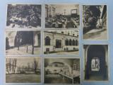 Scoala Centrala de fete din Bucuresti, set carte postala, stampila Politie, Necirculata, Printata
