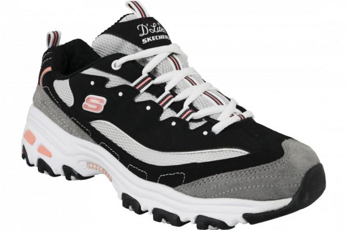 Pantofi sport Skechers D'Lites New Journey 11947-BKWG pentru Femei