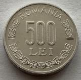 500 Lei 1999 Al, Romania a UNC, Luciu batere