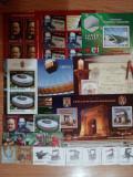 ROMANIA -  LOT 005 - serii + colite stampilate