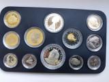 Italia -Set monetar 1997-contine si 500 lire 1997+1000 lire 1997-PROOF-Rar