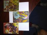 3 x Clubul Temerarilor: Fiul Hienei II + Banul Maracine I + Fluturele de Ivoriu