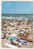 Bnk cp Eforie Nord - La plaja - circulata, Printata