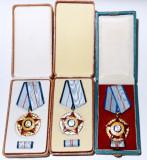 Ordinul MERITUL MILITAR CLS I,II,III-Ministerul de Interne RSR, însemne, brevete