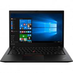 Laptop Lenovo ThinkPad T490s 14 inch FHD Intel Core i5-8265U 8GB DDR4 256GB SSD FPR 4G Windows 10 Pro Black