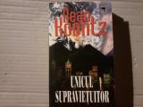 UNICUL SUPRAVIETUITOR - DEAN KOONTZ, RAO, 2000, 379 PAG