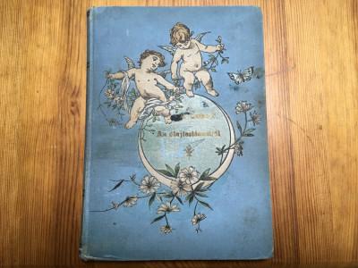 Manual de pictură în ulei - limba maghiară - 1886, cu autograf! foto