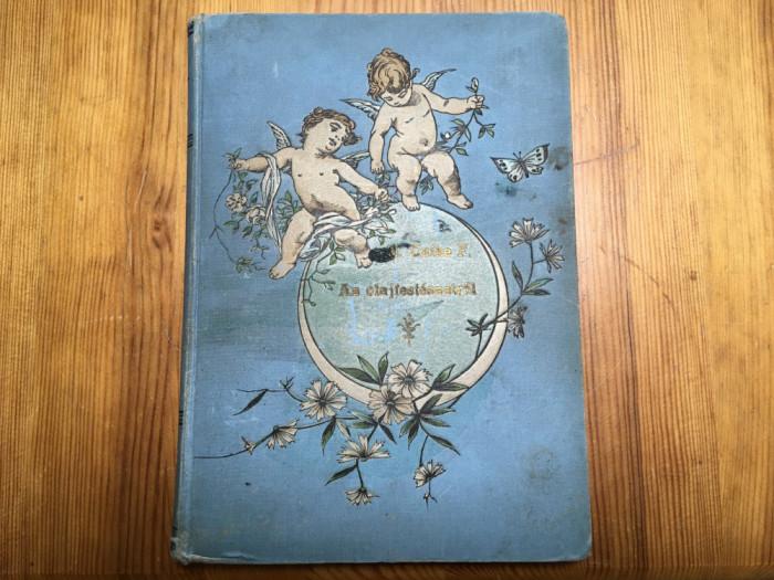Manual de pictură în ulei - limba maghiară - 1886, cu autograf!
