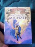 Arhanghel Mihail CARTI ORACOL /TAROT(AURII)original+carte-SIGILAT-LIVRARE IMEDIT