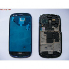 Rama lcd fata samsung i8190 galaxy s3 mini blue original