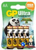 Baterie alcalina Kung Fu Panda 3 Po & Bao Jacket R6 (AA) 4 buc/blister Ultra GP