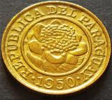 Moneda EXOTICA 1 CENTIMO - PARAGUAY, anul 1950   *cod 4533 - A,UNC LUCIU