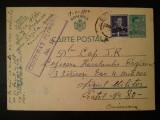 1942-C.P.circ.-CENZURAT-Ploiesti 10, Necirculata, Printata
