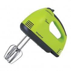 Mixer de mana Hausberg HB-4112, 250 W, 7 viteze, Verde/Gri