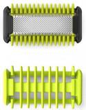 Kit OneBlade Philips QP610/50, Lama corp, Pieptan corp (Verde)
