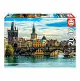 Cumpara ieftin Puzzle Praga, 2000 piese, Educa