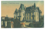 3544 - CRAIOVA, Dinu Mihail Palace, Romania - old postcard - used - 1922