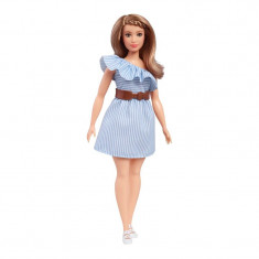 Papusa Barbie Fashion Pinstriped, 30 cm, 3 ani+