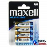 Baterie alcalina R6 (AA) 4 buc/blister Maxell